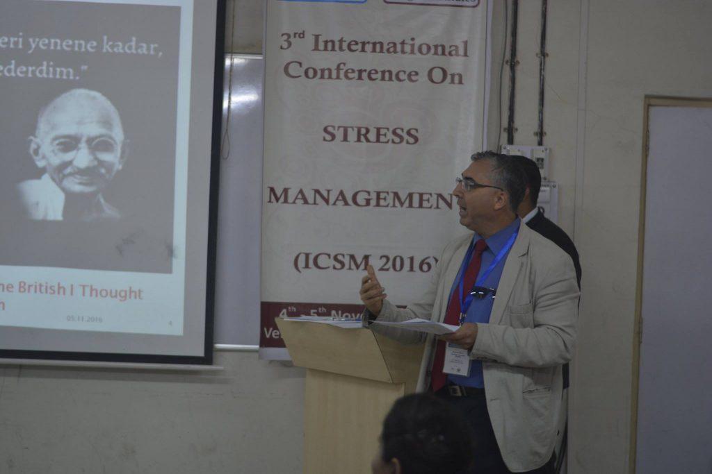 Hindistan Pune 3.Uluslararası Stres Yönetim Konferansı